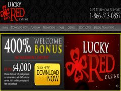 Lucky Red No Deposit Bonus 2021